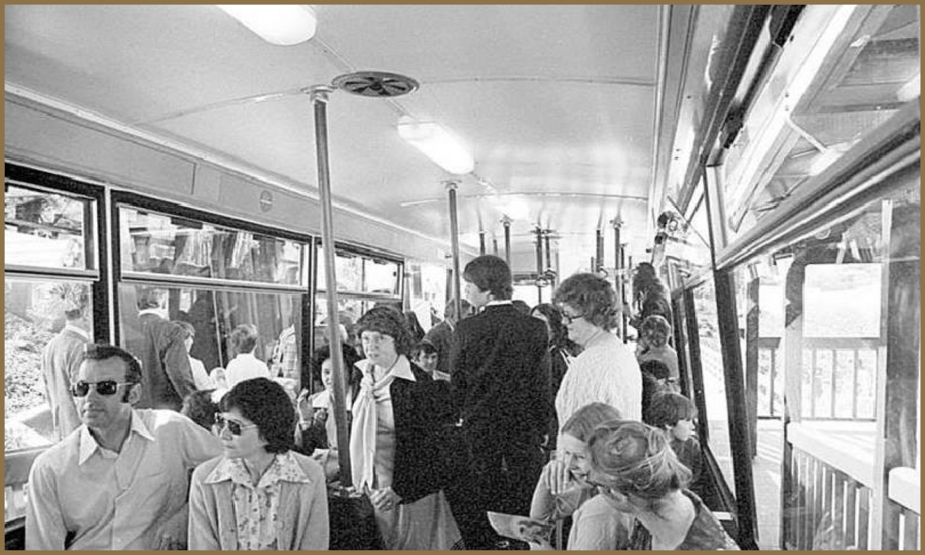 On Cable Car, 1979