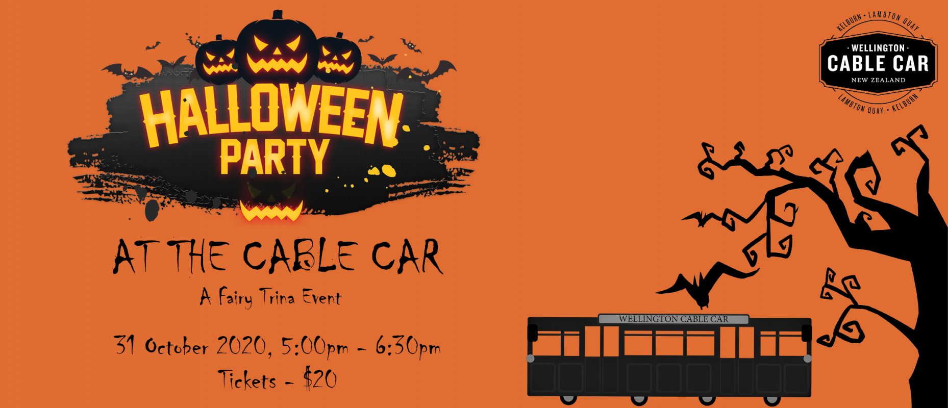 Halloween Party at the Cable Car